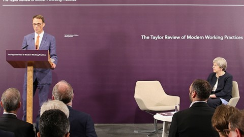 Matthew Taylor's Report on the Gig Economy